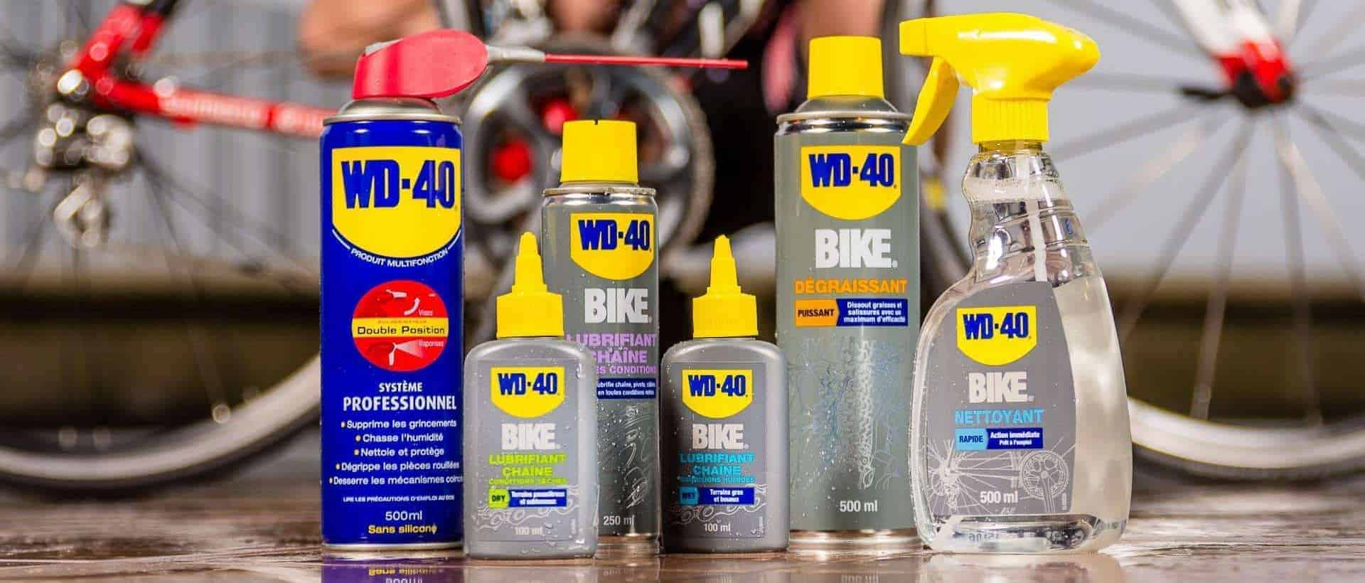 Vélo : le guide complet WD-40 !