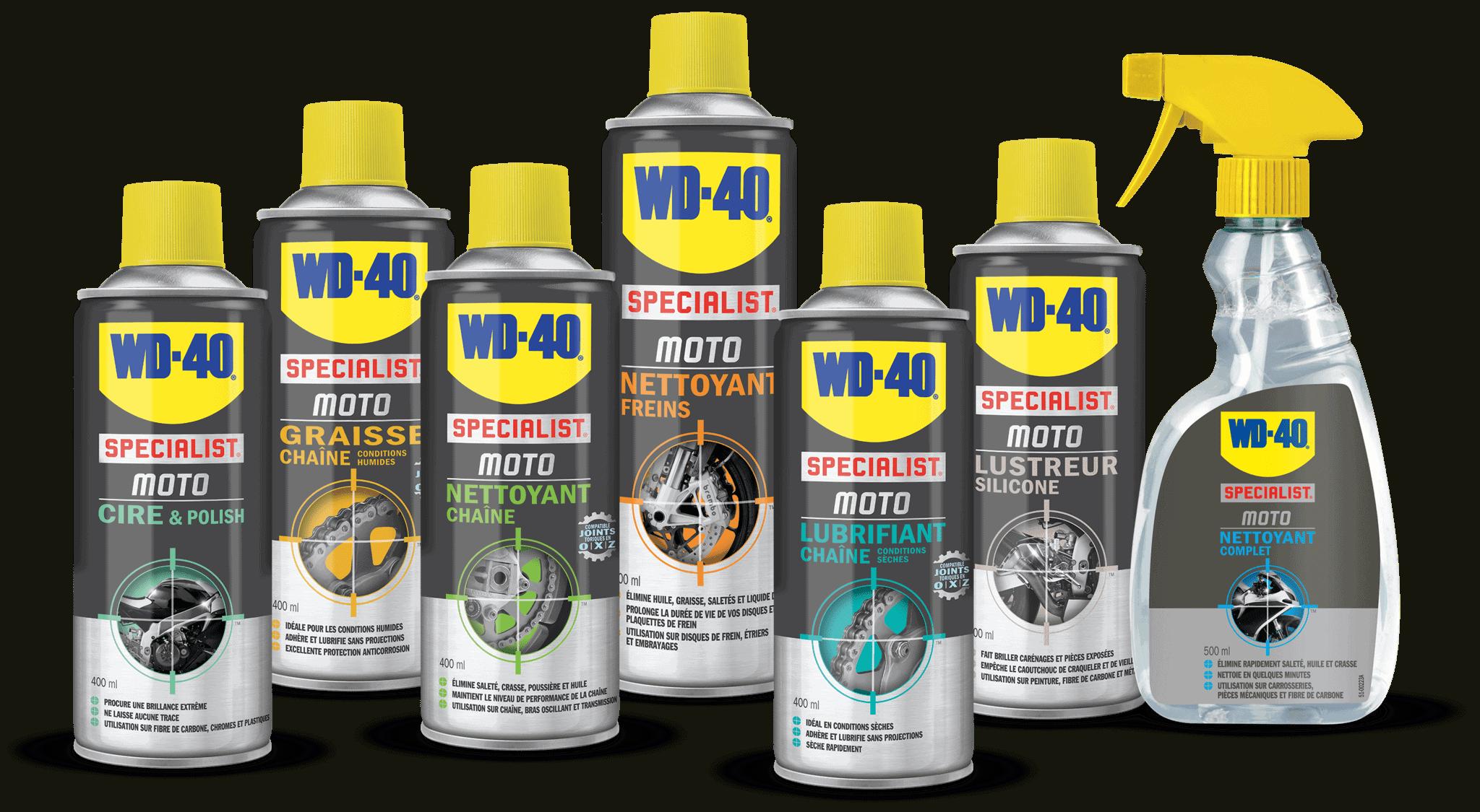 Graisser ou huiler : WD-40 vous donne la réponse !