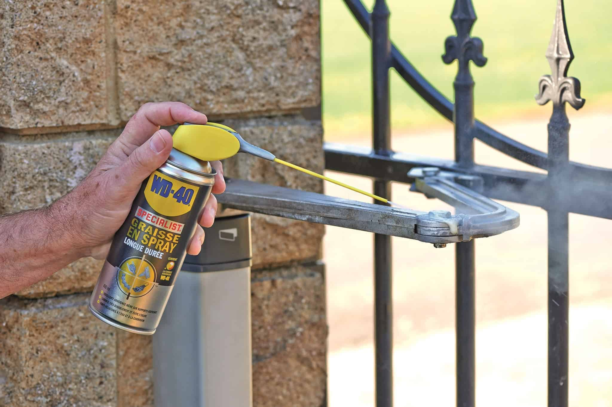 A quoi sert la Graisse en Spray Longue Durée WD-40 Specialist ?